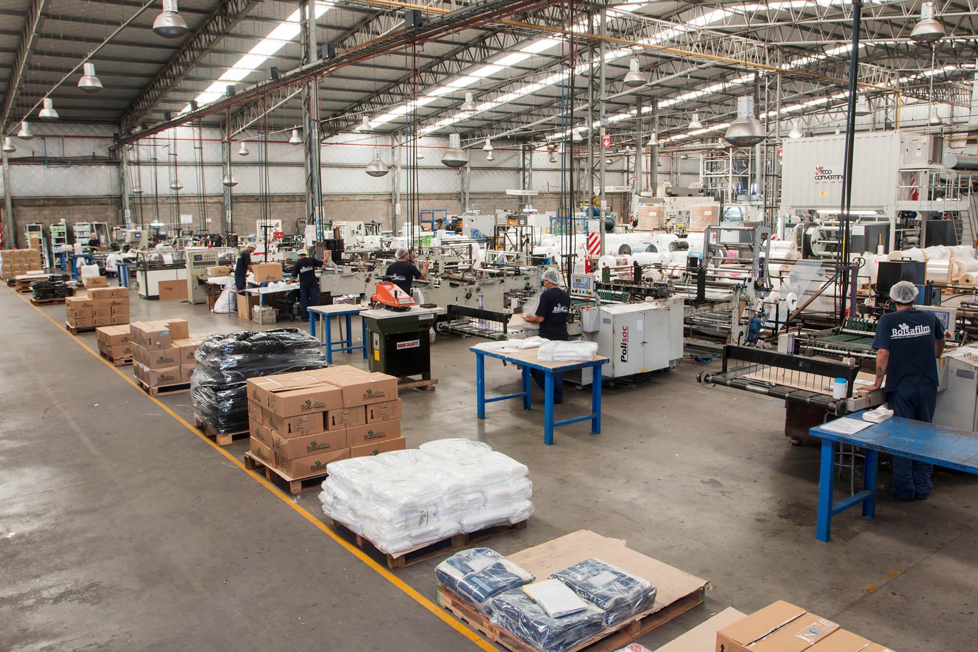 Maquinas confeccion Doypack - Fabrica de Envases flexibles
