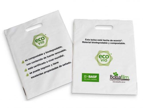 Bolsas compostables – Material ECOVIO