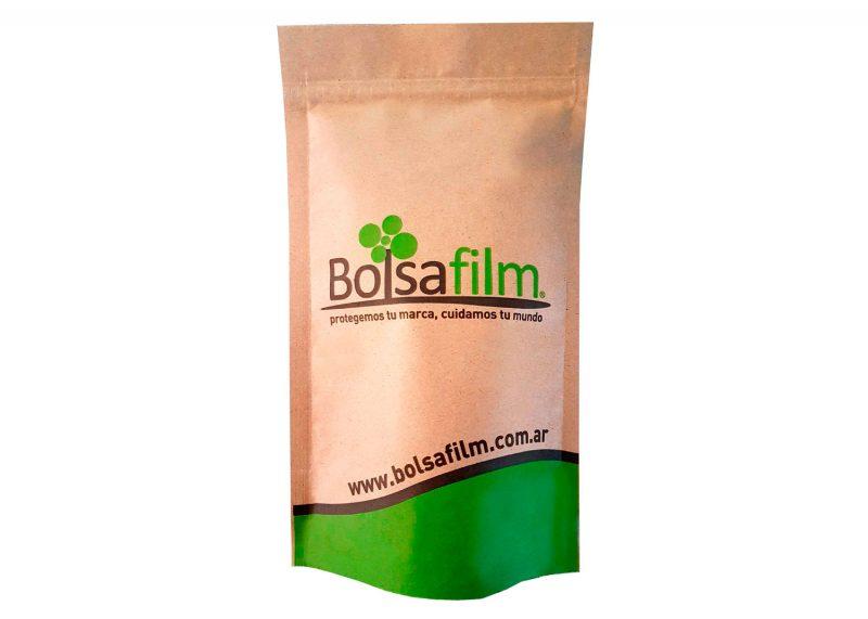 Doypack papel Bolsafilm - Protegemos tu marca, Cuidamos tu mundo. Fabrica de Envases flexibles