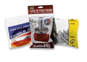Bolsas transparentes herramientas - Fabrica de Envases flexibles